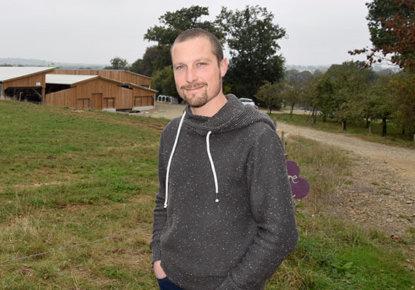 Guillaume Prioux-Richard, éleveur en lait