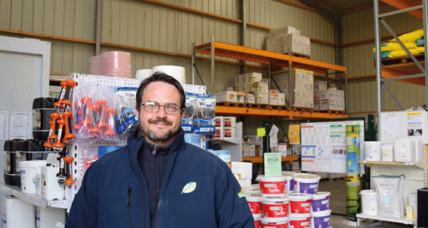 Olivier Julliot, responsable de magasin