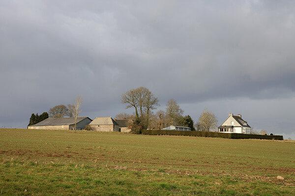 maison d'habitation sur exploitation agricole