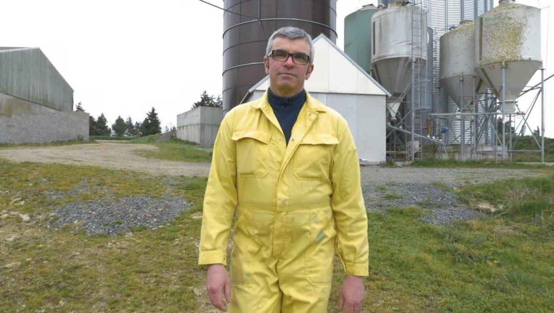 Fabrice Lhotellier, éleveur de porcs