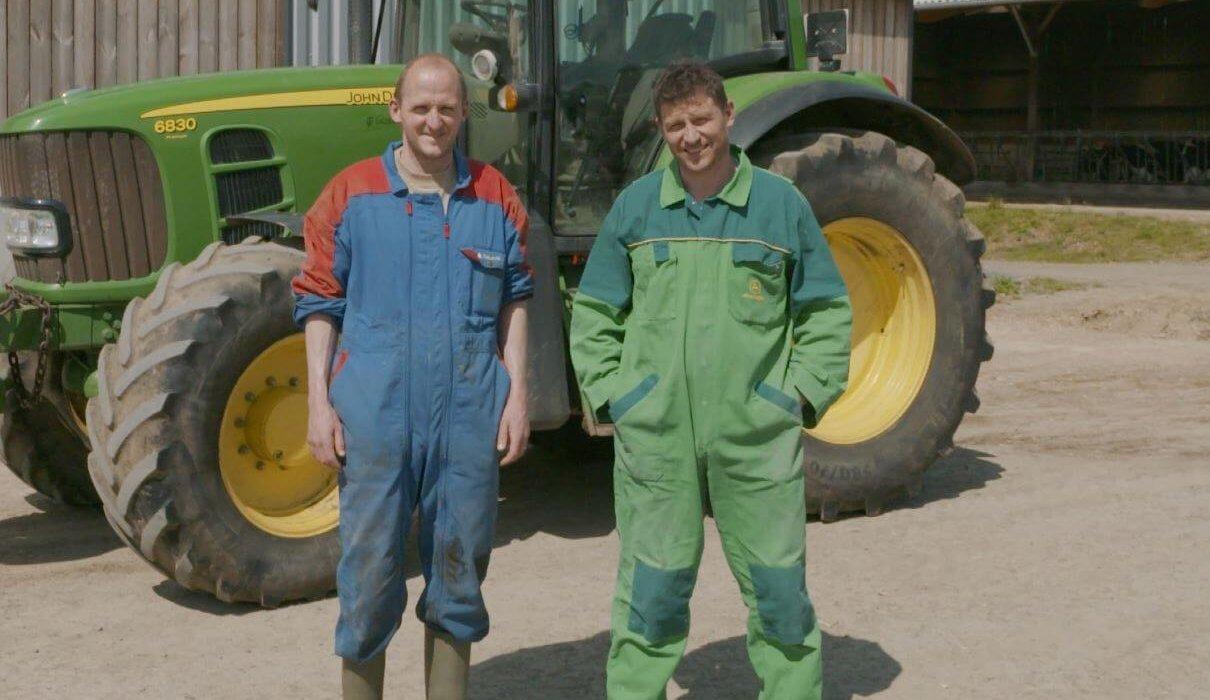 Cyril & Fabrice Menier, producteurs de lait