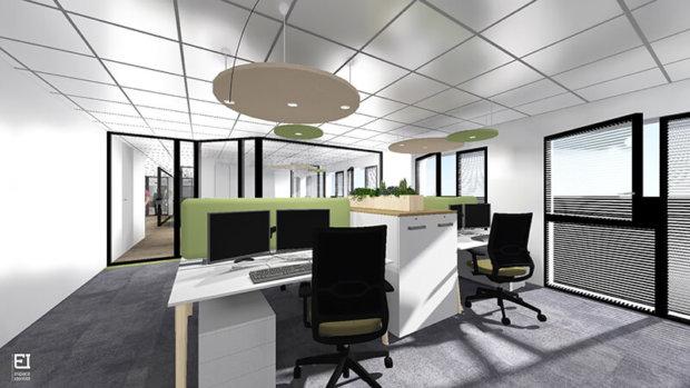 nouveaux bureaux de la plateforme services