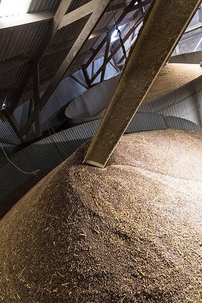 conservation des grains en silo vertical