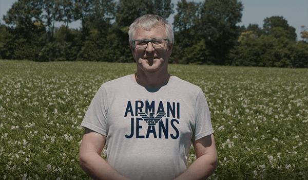 Jean Michel, producteur de pommes de terre