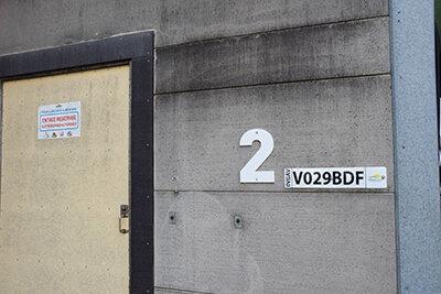 Numérotation bâtiment