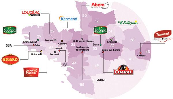 carte des abatteurs réseau syproporcs