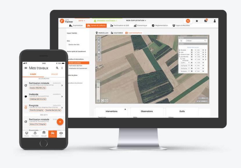Gestion parcellaire smag farmer