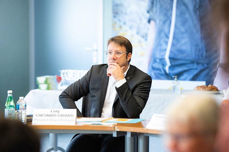Loïg Chesnais-Girard échange sur la souveraineté alimentaire