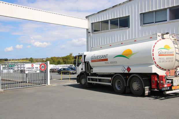 camion de livraison énergie